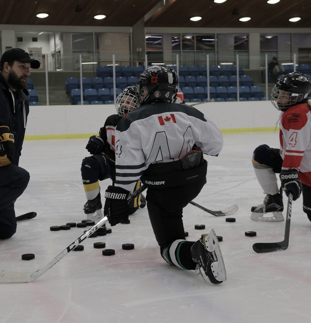 Small Group Hockey Instruction
